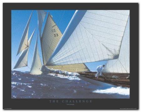The Challenge plakat obraz 50x40cm (1)