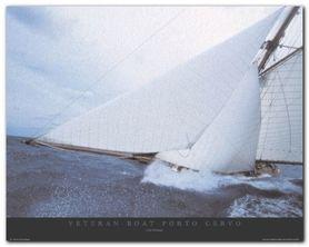 Veteran Boat plakat obraz 50x40cm