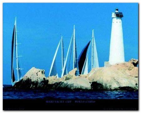 Maxi Yacht Cup plakat obraz 50x40cm (1)