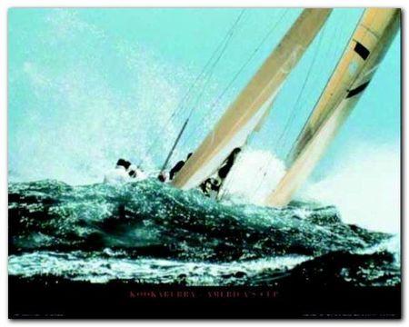 America-S Cup plakat obraz 50x40cm (1)