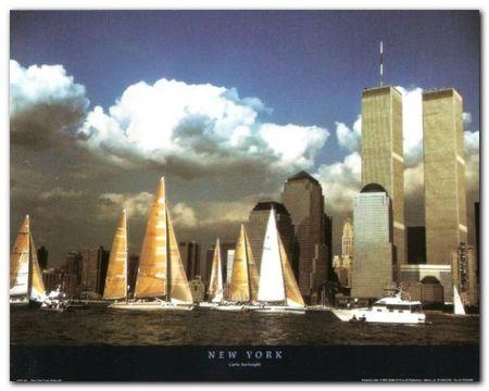 New York plakat obraz 50x40cm (1)