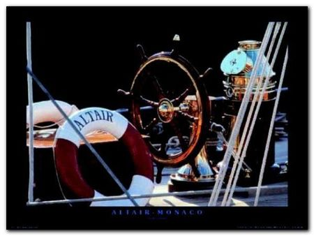 Altair - Monaco plakat obraz 80x60cm (1)