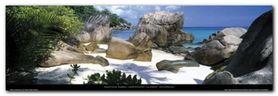 La Digue plakat obraz 95x33cm