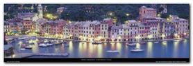 Portofino - Italy plakat obraz 95x33cm