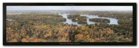 Mille Iles Ontario plakat obraz 95x33cm