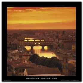 Florence - Italy plakat obraz 70x70cm