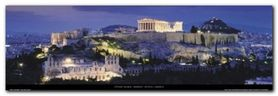 Athens plakat obraz 95x33cm