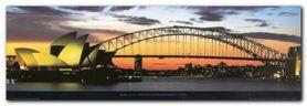 Opera House Sydney plakat obraz 95x33cm