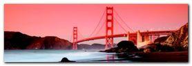 Golden Gate Bridge plakat obraz 95x33cm