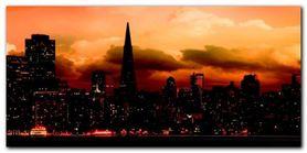 San Francisco Skyline plakat obraz 100x50cm
