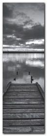 Chesil Beach Dorset plakat obraz 33x95cm
