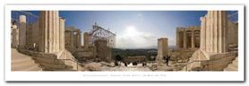 Acropolis, Athens plakat obraz 95x33cm