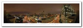 New Yerk City Skyline plakat obraz 95x33cm