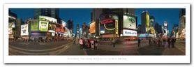 Times Square plakat obraz 95x33cm
