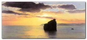 Evenings Profile plakat obraz 50x23cm