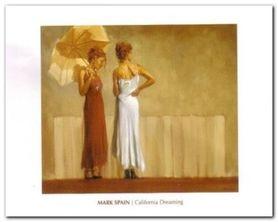 California Dreaming plakat obraz 50x40cm