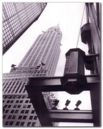 Chrysler Building plakat obraz 40x50cm (1)