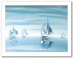 Mineral Horizon plakat obraz 50x40cm