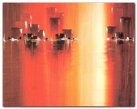 Sunset Reflection plakat obraz 50x40cm