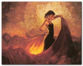 Sevilla plakat obraz 50x40cm