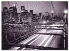 Manhattan At Night plakat obraz 80x60cm (1)