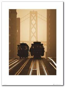 San Francisco plakat obraz 60x80cm