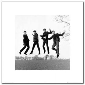 Beatles - Jump plakat obraz 40x40cm