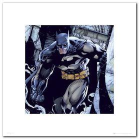 BATMAN SMOKE plakat obraz 40x40cm