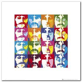 The Beatles plakat obraz 40x40cm