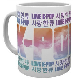 KOREAN POP KPOP kubek licencyjny 300 ml