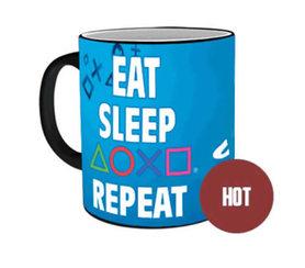 EAT SLEEP PLAY kubek zmienny termicznie