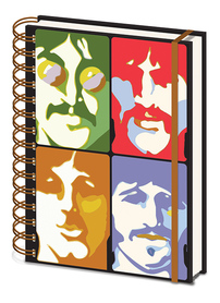 THE BEATLES notes ring A5