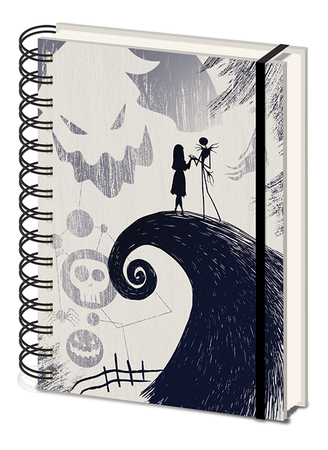 NIGHTMARE BEFORE CHRISTMAS notes ring A5 (1)