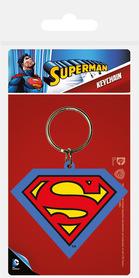 SUPERMAN brelok gumowy