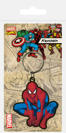 SPIDER-MAN brelok gumowy (1)