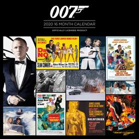 JAMES BOND kalendarz 2020