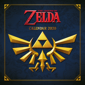 LEGEND OF ZELDA kalendarz 2020