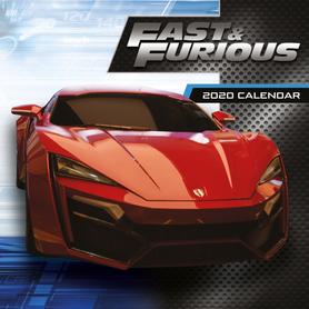 FAST AND FURIOUS kalendarz 2020
