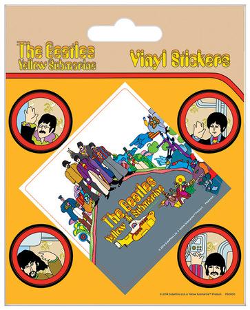 THE BEATLES naklejki zestaw (1)