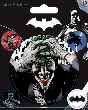BATMAN JOKER naklejki zestaw (1)