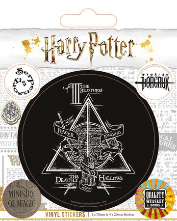 HARRY POTTER naklejki zestaw (1)