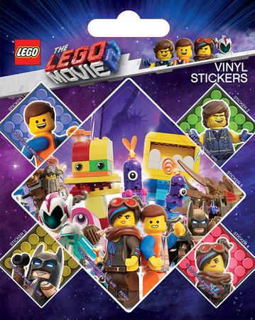 LEGO MOVIE naklejki winylowe (1)