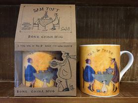 SAM TOFT porcelanowy kubek 315 ml