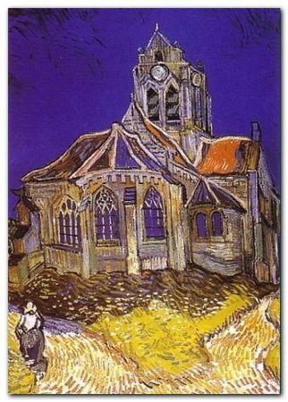 D-Auvers Sur Oise plakat obraz 50x70cm (1)