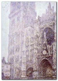 La Catedrale De Rouen plakat obraz 50x70cm