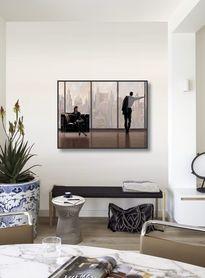 New York plakat obraz 80x60cm