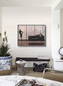 Pensive New York plakat obraz 80x60cm