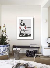 Muhammed Ali plakat obraz 60x80cm