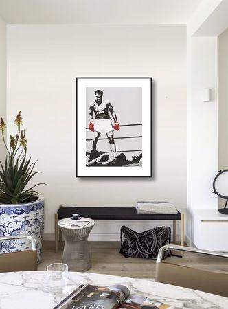 Muhammed Ali plakat obraz 60x80cm (1)