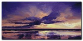 Evening Sky I plakat obraz 100x50cm